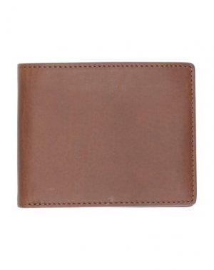 Бумажник RAG & BONE. Цвет: какао