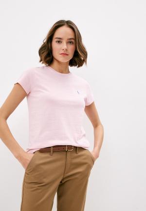 Футболка Polo Ralph Lauren. Цвет: розовый