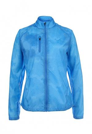 Ветровка ASICS Lightweight Jacket. Цвет: голубой