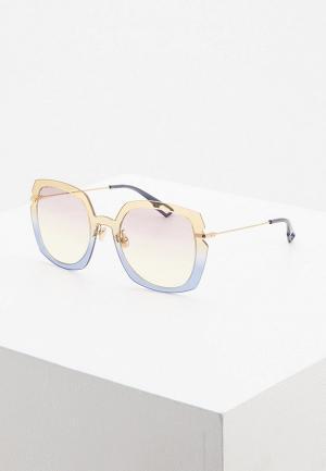 Очки солнцезащитные Christian Dior DIORATTITUDE1 3LG. Цвет: разноцветный