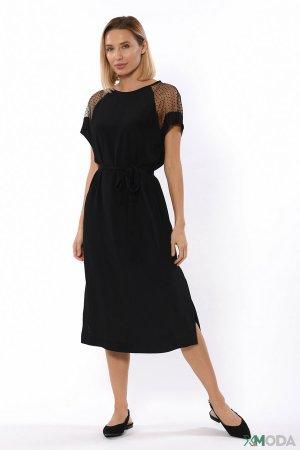 Платье Escada Sport. Цвет: чёрный