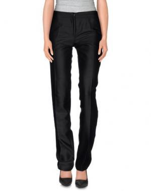 Повседневные брюки ANGELO MOZZILLO. Цвет: черный