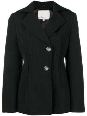 Пиджак с выточками 3.1 Phillip Lim. Цвет: черный