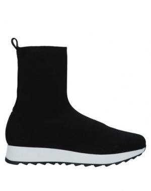 Высокие кеды и кроссовки ANNARITA N TWENTY 4H. Цвет: черный