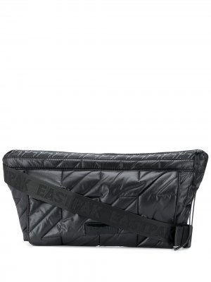 Дутая сумка Eastpak. Цвет: черный