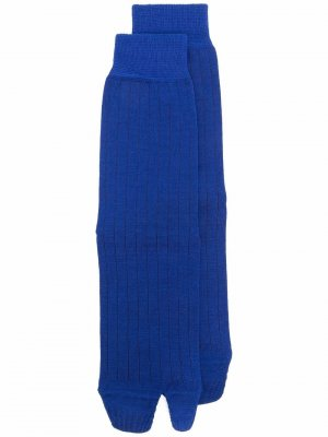 Tabi toe socks Maison Margiela. Цвет: синий