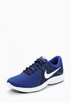 Кроссовки Nike MENS REVOLUTION 4 RUNNING SHOE (EU). Цвет: синий