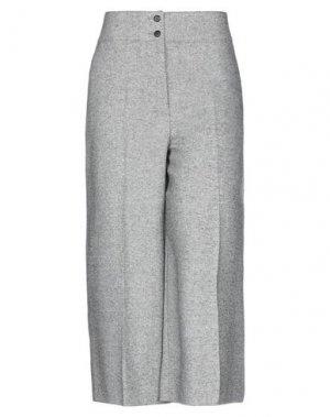 Повседневные брюки ANNECLAIRE. Цвет: серый