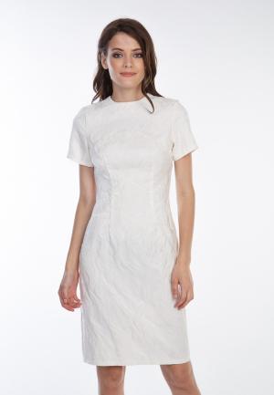 Платье Irma Dressy. Цвет: белый
