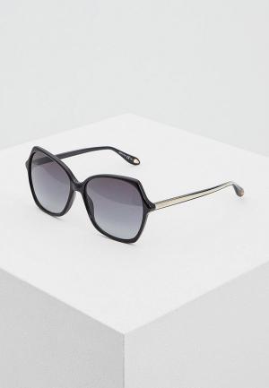 Очки солнцезащитные Givenchy GI007DWAYEH8. Цвет: черный