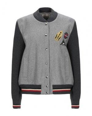 Куртка MAISON KITSUNÉ. Цвет: серый