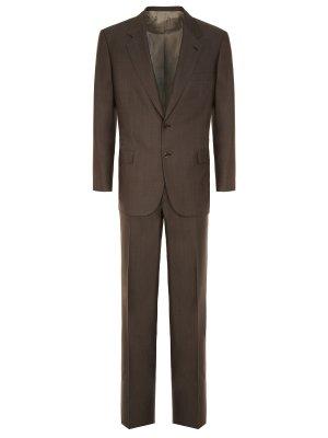 Классический костюм из шерсти BRIONI