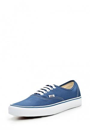 Кеды Vans AUTHENTIC. Цвет: синий