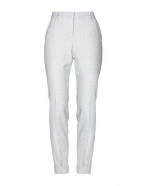 Повседневные брюки CAPPELLINI by PESERICO. Цвет: светло-желтый