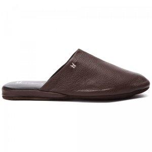 Тапочки Moreschi. Цвет: коричневый