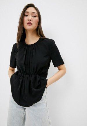 Блуза French Connection. Цвет: черный