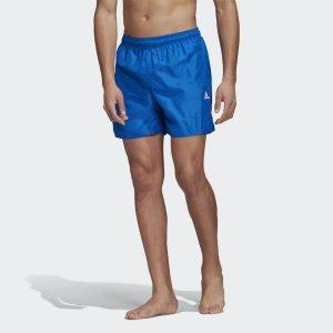 Плавательные шорты CLX Solid Performance adidas. Цвет: синий