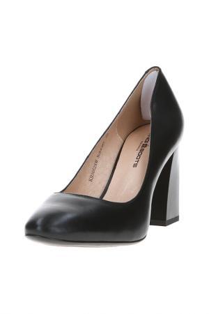 Туфли King Boots. Цвет: черный