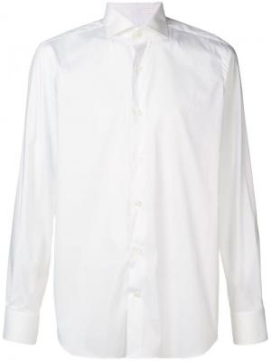 Строгая рубашка в стиле смокинга Alessandro Gherardi