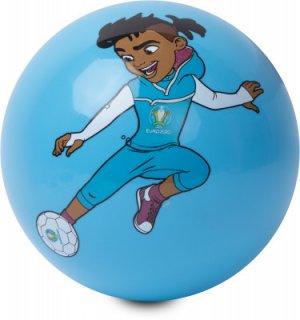 Мяч футбольный надувной EURO 2020 UEFA. Цвет: синий