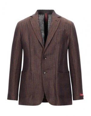 Пиджак ERNESTO. Цвет: коричневый