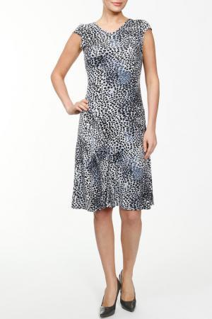 Платье NAKAD. Цвет: серебро