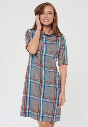 Платье Akimbo. Цвет: серый