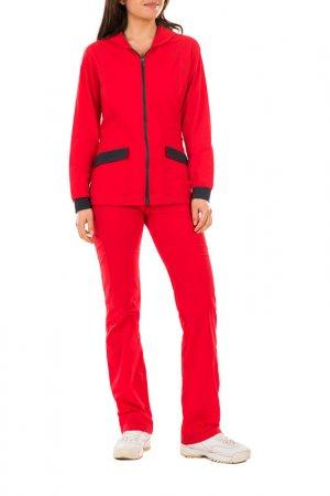 Куртка Dilemma. Цвет: красный