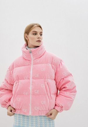 Пуховик Chiara Ferragni Collection. Цвет: розовый