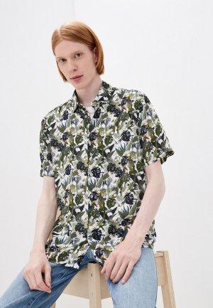 Рубашка Henderson. Цвет: зеленый