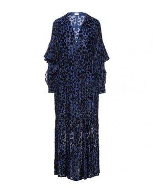 Длинное платье LALA BERLIN. Цвет: синий