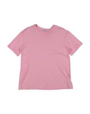 Футболка DOLCE & GABBANA. Цвет: розовый