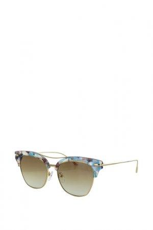 Очки солнцезащитные Byblos. Цвет: коричневый