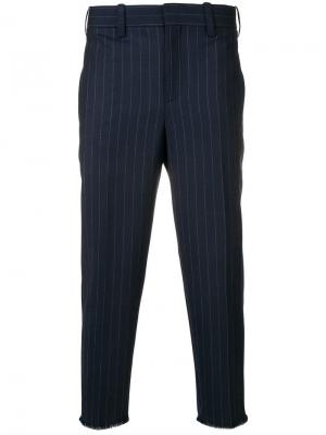 Классические брюки чинос Neil Barrett. Цвет: синий