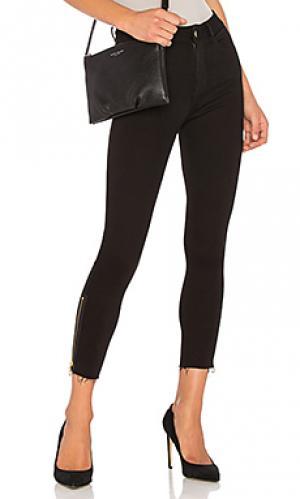 Узкие укороченные джинсы instaslim с высокой посадкой farrow DL1961. Цвет: none