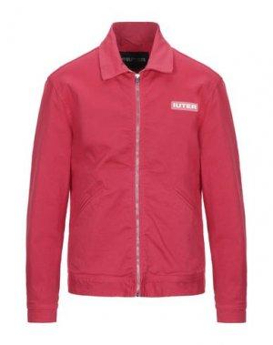 Куртка IUTER. Цвет: красный