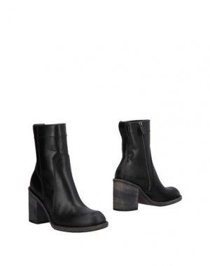 Полусапоги и высокие ботинки HAIDER ACKERMANN. Цвет: черный