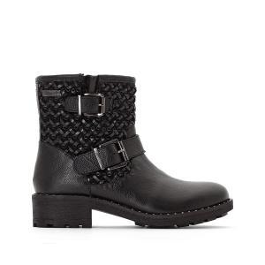 Ботинки кожаные Loraline LES TROPEZIENNES PAR M BELARBI. Цвет: черный