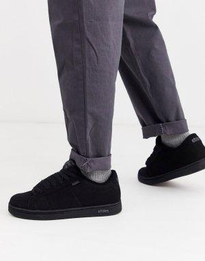 Черные кроссовки Kingpin-Черный Etnies