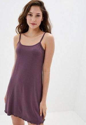 Сорочка ночная Arloni. Цвет: фиолетовый