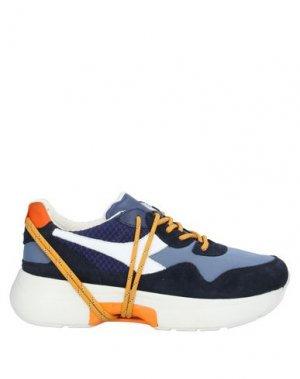 Низкие кеды и кроссовки DIADORA HERITAGE. Цвет: темно-синий