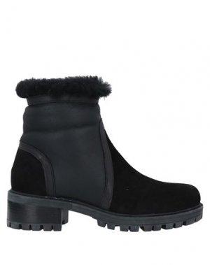 Полусапоги и высокие ботинки ALBANO. Цвет: черный