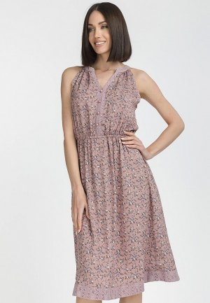 Платье Gloss. Цвет: розовый