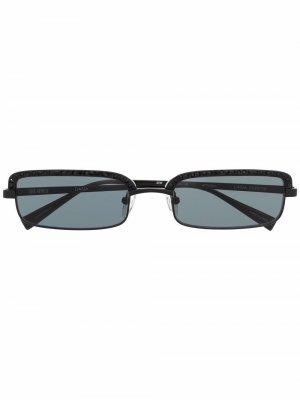 Солнцезащитные очки из коллаборации с Attico Linda Farrow. Цвет: черный