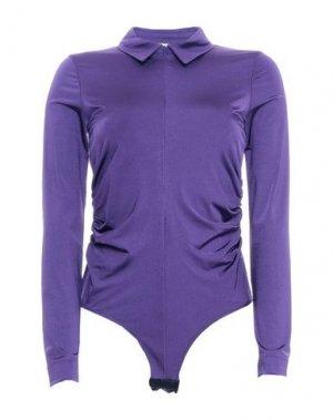 Pубашка ATTIC AND BARN. Цвет: фиолетовый