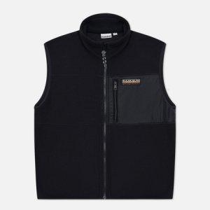 Мужской жилет Trentino Fleece Napapijri. Цвет: чёрный