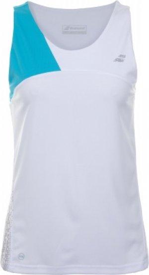 Футболка без рукавов женская Perf Tank Top, размер 44-46 Babolat. Цвет: белый