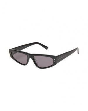 Солнечные очки STELLA McCARTNEY KIDS. Цвет: черный