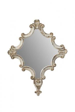 Зеркало 60x3x76 см ГЛАСАР. Цвет: белый