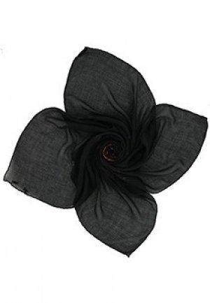 Кашемировый платок GIVENCHY. Цвет: черный